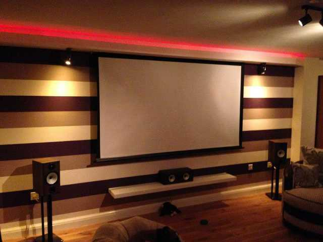 Cinema Room in Malmesbury