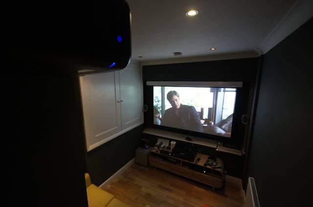 Cinema room In Surrey