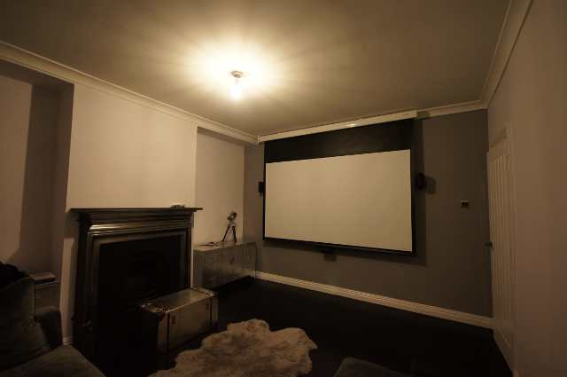 Cinema room in West London