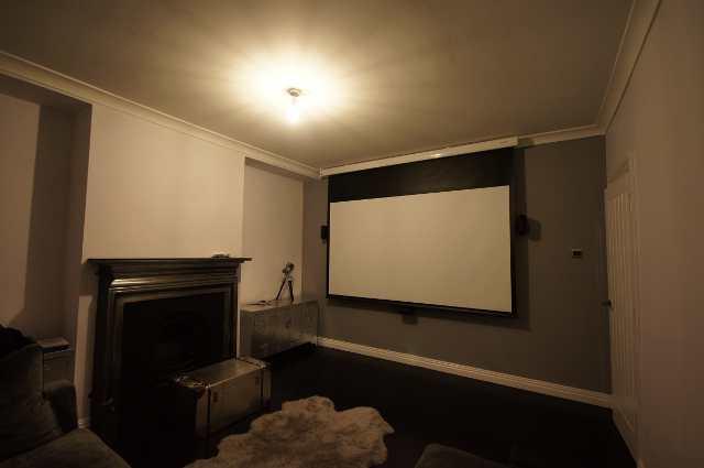 Cinema room in West London