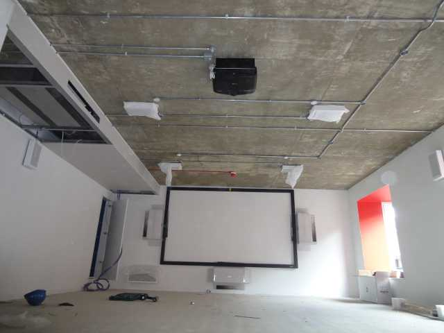 Cinema room in Shoreditch