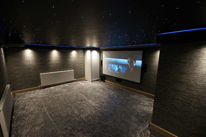 Cinema room in Marlow