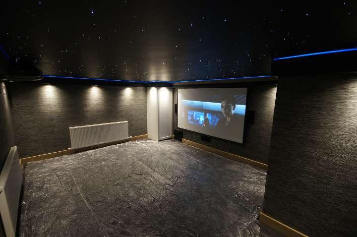 Cinema room in Marlow