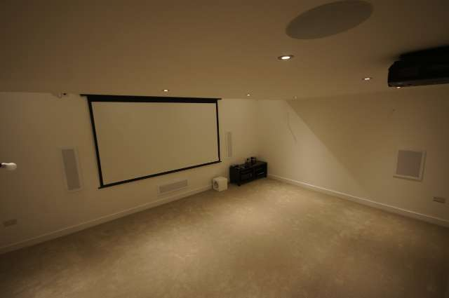 Cinema room In Yorkshire