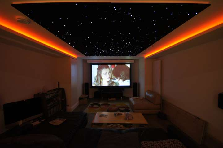 Cinema Room in Muswell Hill