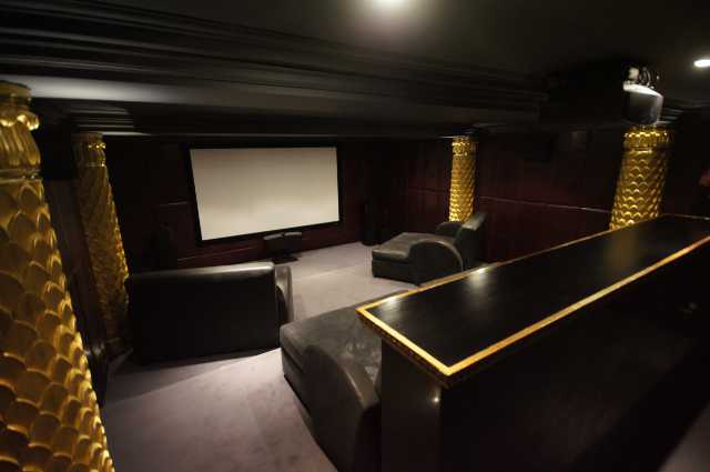 Cinema Room In Weybridge