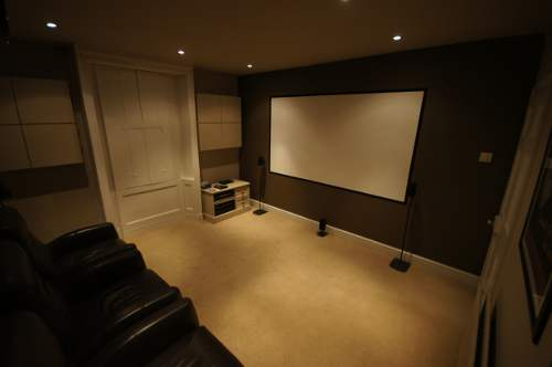 Home Cinema installation in Berkshire - Sony VPL-VW40ES / Epson EH-TW7200