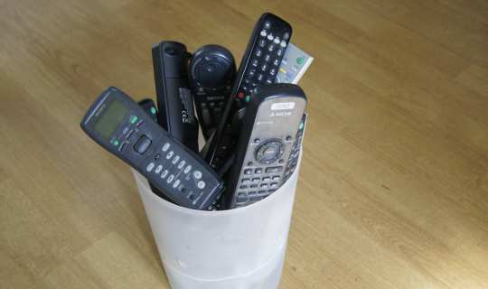One RTI remote control - replaces all of your other remotes
