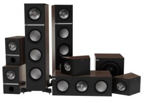 Home cinema room installation Kef Q700 Surround package