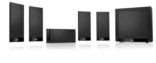 Home cinema installation Bronze package Kef T101