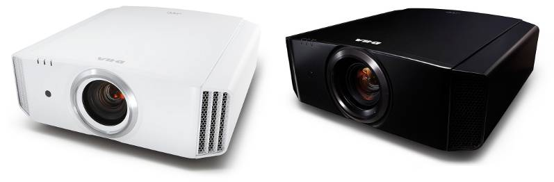 JVC-DLA-X5000 projector with installation bundle