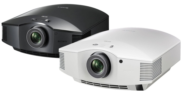 Sony VPL-HW45ES projector with installation