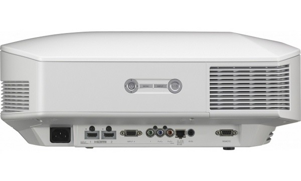 Sony VPL-HW45ES projector with installation side view