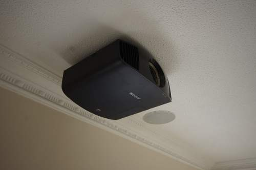 SXRD Projector - Home cinema installation in Cambridgeshire