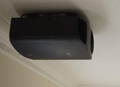 4K Projector - home cinema installation in Cambridgeshire