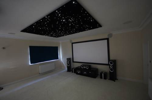 Starscape - Home cinema installation in cambridgeshire
