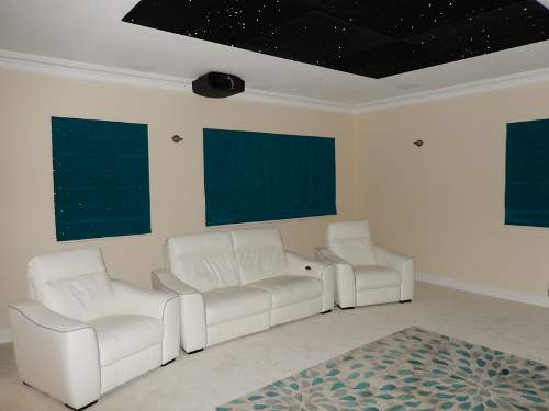Home cinema installation in Cambridgeshire - Cinema seating