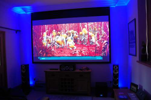 Home cinema Installation in Norfolk Image 1