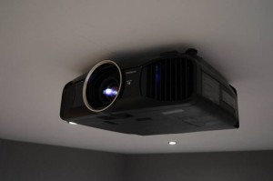 low profile flush projector bracket ceiling mount with Epson EH-TW9200