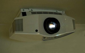 VPL-HW40ES on flat ceiling mount for sony projectors