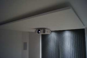 Flush Ceiling bracket for TW9400W low profile